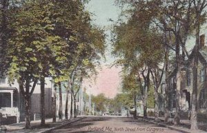 Maine Portland North Street From Congress