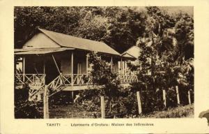 french polynesia, TAHITI OROFARA, Leprosery, House of Nurses (1930s) Mission