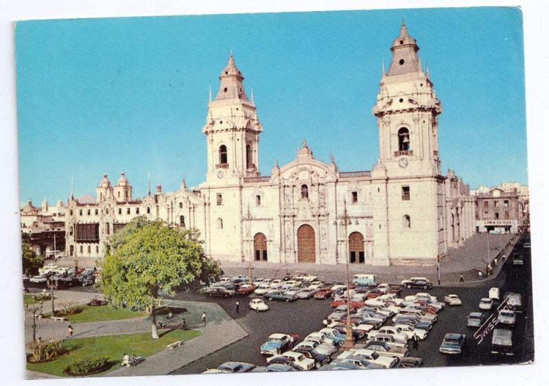 Peru Lima Cathedral Catedral 1971 Stamp Scott # C300