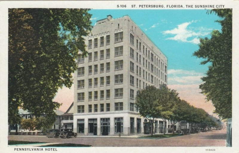 ST PETERSBURG , Florida , 1910s ; Pennsylvania Hotel