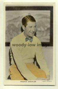 b1245 - Film Actor - Maurice Chevalier - postcard Picturegoer C49a