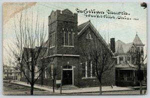 Crooksville Ohio~Christian Church~Parsonage Next Door? 1913 CU Williams