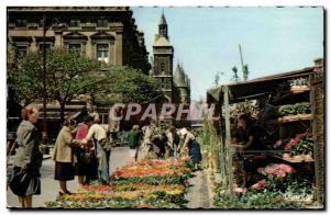 Postcard Modern Paris The Quai aux Fleurs