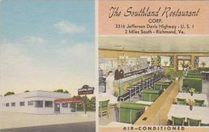 Virginia Richmond The Southland Restaurant