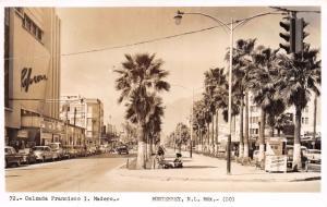 MONTERREY NUEVO LEON MEXICO~CALZADA FRANCISCO I MADERO~REAL PHOTO POSTCARD 1950s