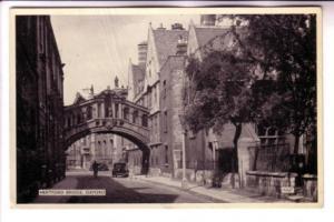 B&W Hertford Bridge and Houses Oxford England, Salmon Series, Photostyle, 15227
