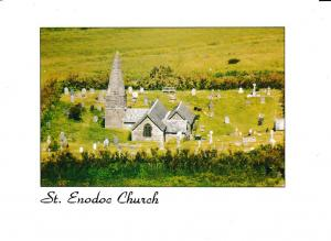 postcard Cornwall Trebetherick ST. ENODOC CHURCH unposted