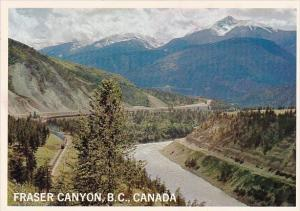 Canada Fraser Canyon Meeting Of The Railways River And Highway Richmond Briti...