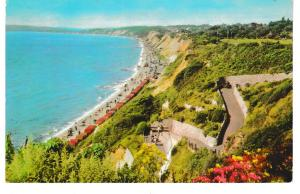 Post Card Dorset BOURNEMOUTH Zig-Zag Path and Promenade West Cliff