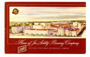 WI - Milwaukee. Schlitz Brewing Co., Brewery
