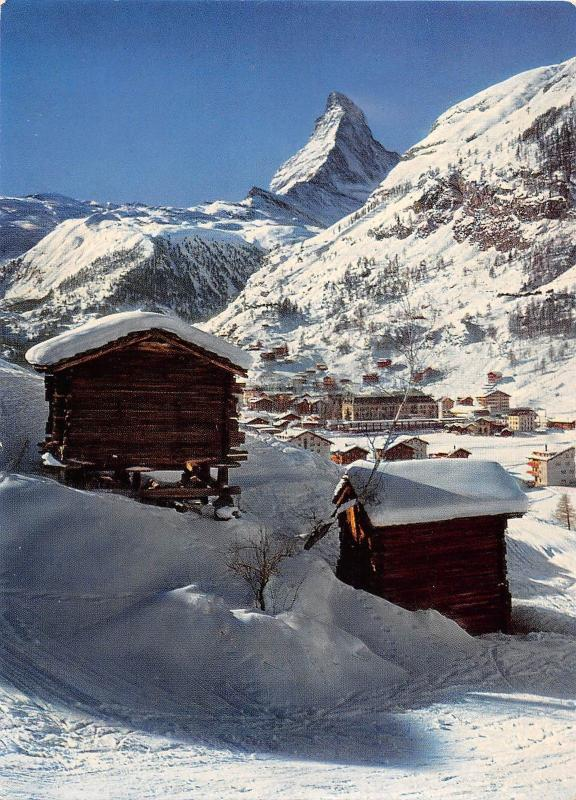 BT14099 Zermatt matterhorn mt cervin            Switzerland