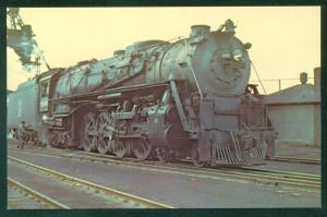SOO Line Railroad Locomotive Northern 4-8-4 Chippewa Falls Wisconsin Postcard