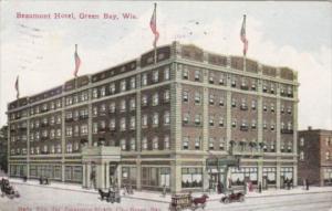 Wisconsin Green Bay Beaumont Hotel 1911