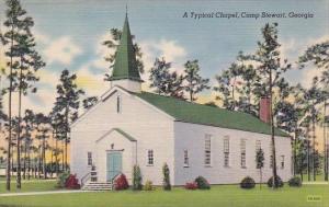 Georgia Camp Stewart A Typical Chapel