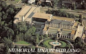 Ames Iowa~Memorial Union Building Iowa State University~1960 Postcard