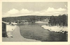 finland suomi, KAJAANI KAJANA, Panorama (1930s)
