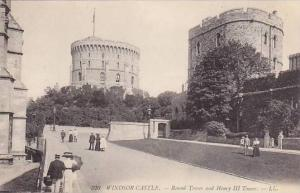 WINDSOR CASTLE, Round Tower and Henry III Tower, 00-10s