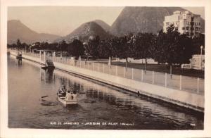 RIO DE JANEIRO BRAZIL~JARDIM de ALAH ( IPANEMA )~REAL PHOTO POSTCARD 1930s