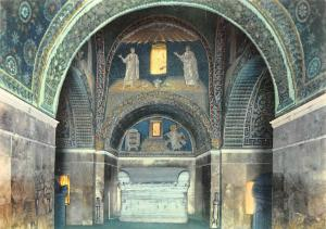 Italy Ravenna Mausoleum of Galla Placidia Mausoleo