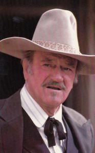 John Wayne 1970s Vintage Postcard Photo