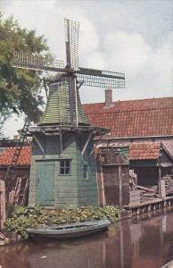 Small Windmill, Row Boat, 40-60s
