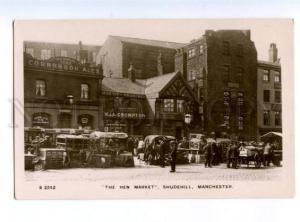 173946 UK MANCHESTER Hen Market Shudenhill Vintage postcard