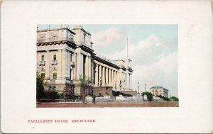 Parliament House Melbourne Australia Unused Postcard F92