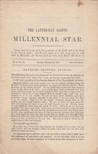 MILLENNIAL STAR, FEBRUARY 20, 1893 ; Morman Newspaper