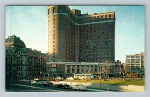 Providence RI-Rhode Island, The Sheraton Biltmore Hotel, Chrome Postcard