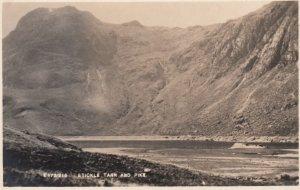 RP: Stickle Tarn, Harrison Stickle , Lake District , England , 1910-30s ; & Pike