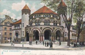 Osborn Hall Yale University 1905 Tucks
