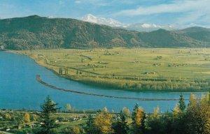 MISSION CITY , British Columbia, 50-60s ; View from Benedictine Monastery
