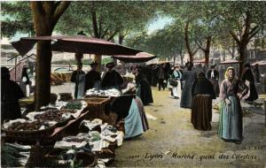 CPA LYON-Marche quai des Celestins (426667)