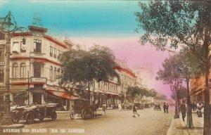 RP: RIO DE JANEIRO , Brazil , 1910s ; Avenida Rio Branco #2