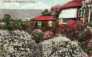 California Beautiful California Bungalow In Winter 1910