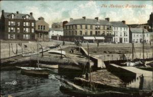 Portstewart Ireland The Harbour c1910 Postcard