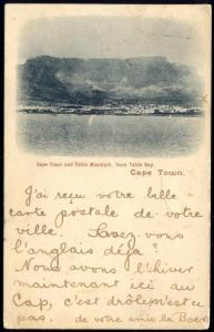 south africa, CAPE TOWN, Panorama, Table Mountain 1901