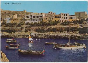 GOZO, Xlendi Bay, MALTA, unused Postcard
