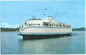 M.V. Queen of Esquimalt, British Columbia Ferry, Victoria, BC Canada Chrome