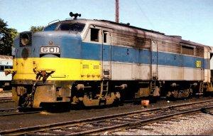 Trains Long Island Railroad ALCO FA2 Locomotive #601