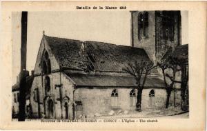 CPA MILITAIRE Bataille de la Marne, Env. de Chateau-Thierry, Coincy (316813)