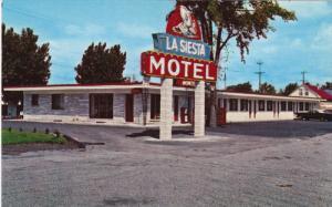 La Siesta Motel, Greenfoeld Park, Quebec, Canada, 40-60s
