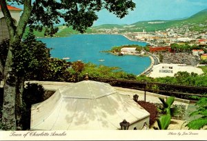 St Thomas Town Of Charlotte Amalie Seen From Bluebeard's Castle Hotel