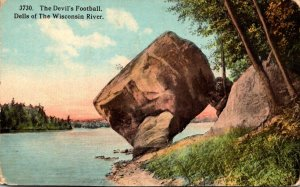 Wisconsin Dells Of The Wisconsin River The Devil's Football