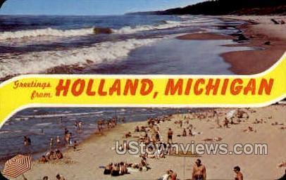 Greetings From Holland MI Unused