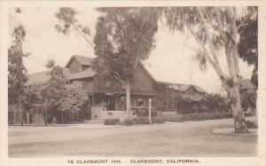 Ye Claremont Inn Claremont California Albertype