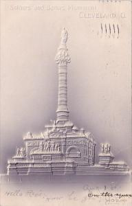 Soldiers And Sailors Monumont Cleveland Ohio 1905