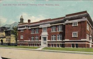 Iowa Waterloo East Side High and Manual Training School 1911