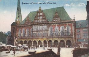Bremen , Germany , 00-10s ; Rathaus von der Borse aus