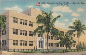 KEY WEST, Florida, 1930-40s; Administration Bldg., U.S. Naval Operating Base
